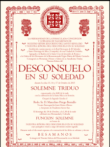 Cartel Cultos Desconsuelo 15