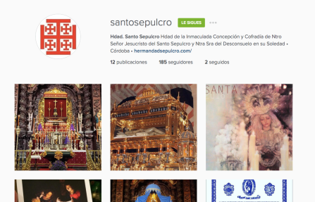 instagram santo sepulcro