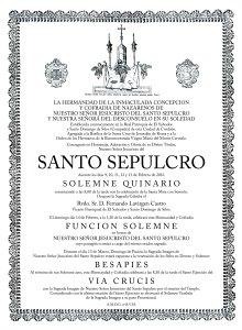 Santo Sepulcro_ Quinario 2016