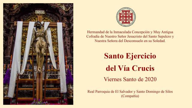 Via Crucis Santo Sepulcro 2020