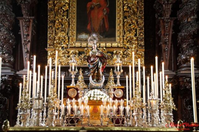 Inmaculada altar 2020