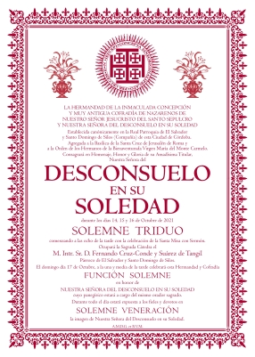 Cartel Desconsuelo 2021